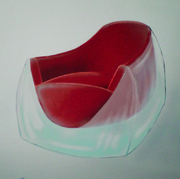 "Sessel ""Acrylic-Cube"""